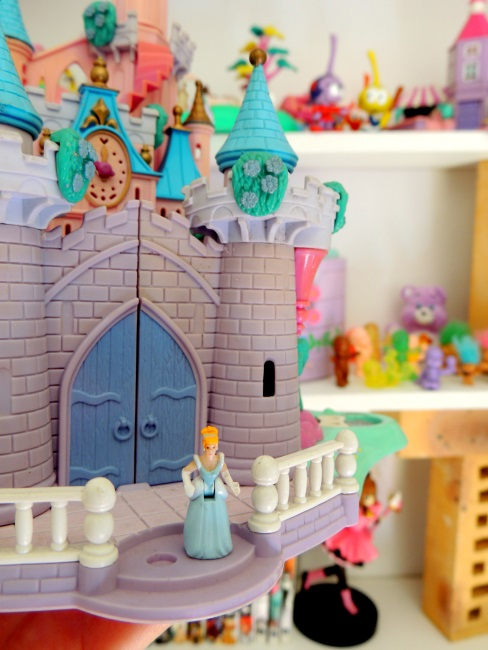 Château Polly Pocket de Cendrillon