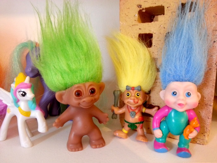Troll doll Uneeda - Magic Troll